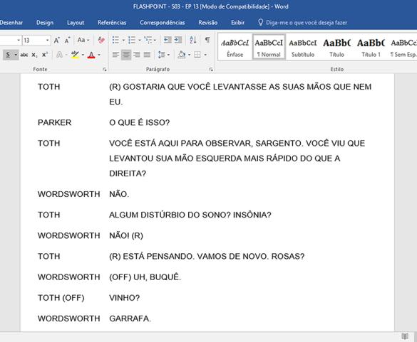 Exemplo de um arquivo traduzido