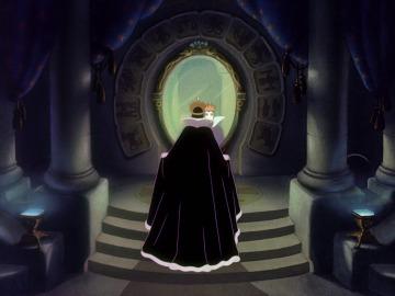 A rainha má e o espelho mágico